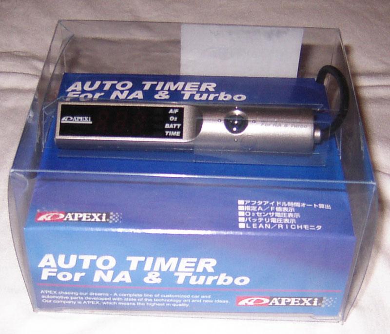 Ziemlich Apexi Auto Timer Für Na & Turbo Manuell Galerie ...